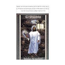 Yahshuah El Shaddai El Shaddai Decal
