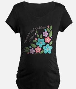 Floral Explosion Baby Blank T-Shirt