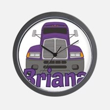 briana-g-trucker Wall Clock