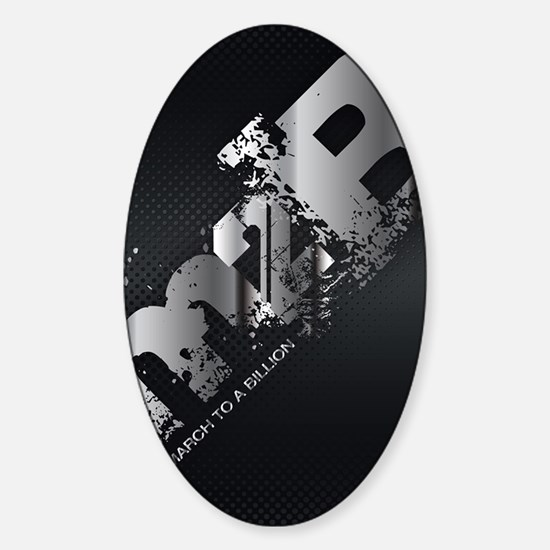 ViSalus M2B Phones Sticker (Oval)