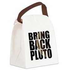 Bring back pluto Canvas Lunch Bag