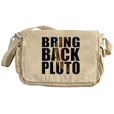 Bring back pluto Messenger Bag