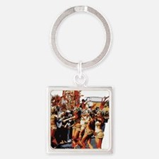 Notting Hill 2 Square Keychain