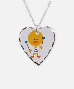 Mallet Chick Necklace Heart Charm