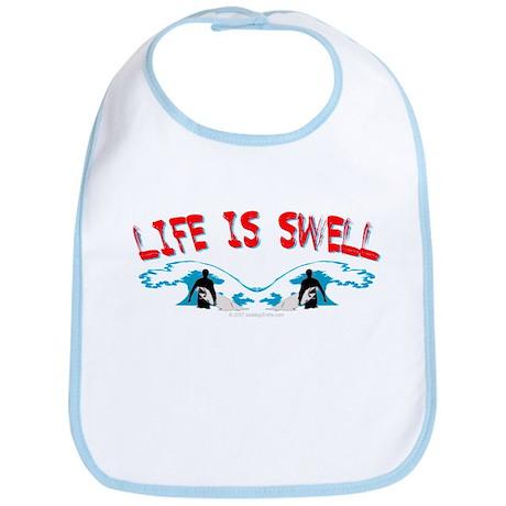 Surfing- Life is Swell Bib