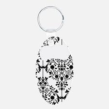 Damask Kettlebell Keychains
