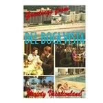 Greetings From Del Boca Vista Postcards (Pkg. 8)