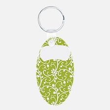 Organic Green Vine Kettlebe Keychains