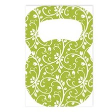 Organic Green Vine Kettle Postcards (Package of 8)