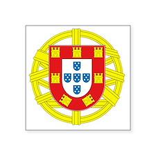 """portugal 2 Square Sticker 3"""" x 3"""""""