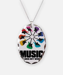 MUSIC COLORS MY WORLD Necklace