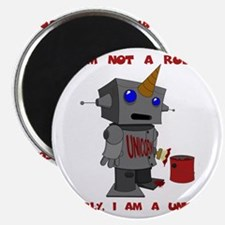 I am not a robot. Clearly, I am a unicorn. Magnet