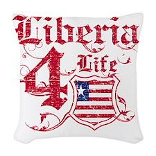 liberia Woven Throw Pillow