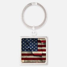 small poster Square Keychain