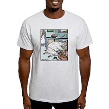 Sheep Plumber butt crack T-Shirt