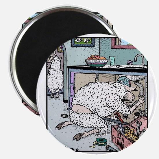 Sheep Plumber butt crack Magnet