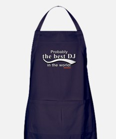 Probably The Best DJ In The World Apron (dark)