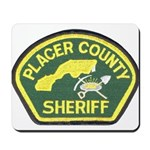 Placer County Sheriff Mousepad