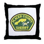 Placer County Sheriff Throw Pillow