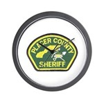 Placer County Sheriff Wall Clock
