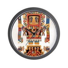 Tiwanku Gateway of the Sun Wall Clock