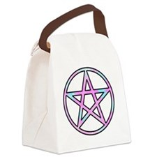 Candygram Pastel Pentacle Canvas Lunch Bag