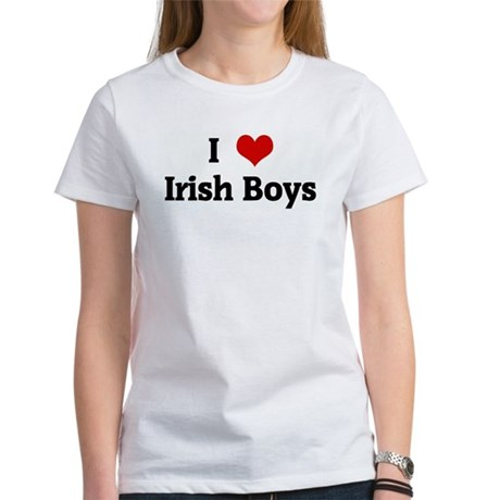 I Love Irish Boys Shirt I Love Irish Boys Tee