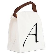 Atheist A symbol Canvas Lunch Bag