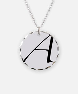 Atheist A symbol Necklace