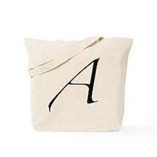 Atheist A symbol Tote Bag