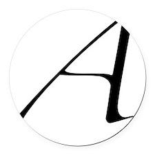 Atheist A symbol Round Car Magnet