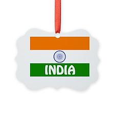 India Picture Ornament