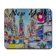 NY_10x10_TimesSquare Mousepad