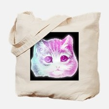 CosmicKitty Pink Tote Bag