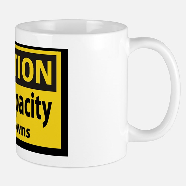 Clown Capacity Sticker Mug