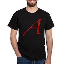 Dawkins Scarlet Letter Atheist Symbol T-Shirt