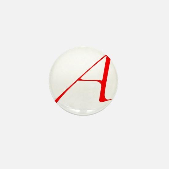 Dawkins Scarlet Letter Atheist Symbol Mini Button