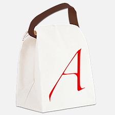 Dawkins Scarlet Letter Atheist Sy Canvas Lunch Bag