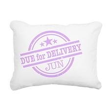 Delivery-JUNclr Rectangular Canvas Pillow