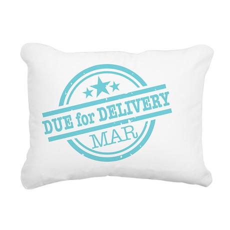 Delivery-MARclr Rectangular Canvas Pillow