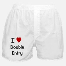 I Love Double Entry Boxer Shorts