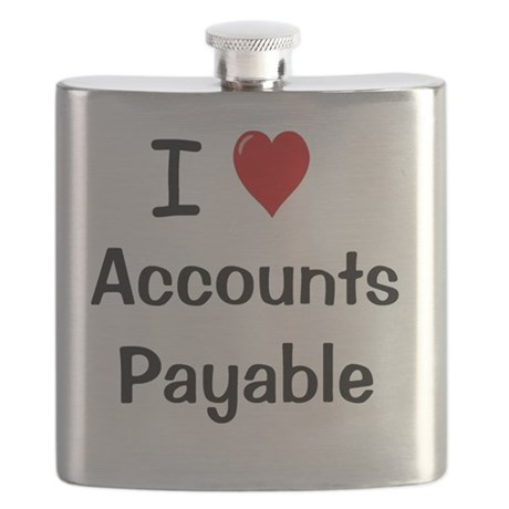 Check For Wedding Gift Payable To : Love Accounts Payable Flask by Admin_CP41752965