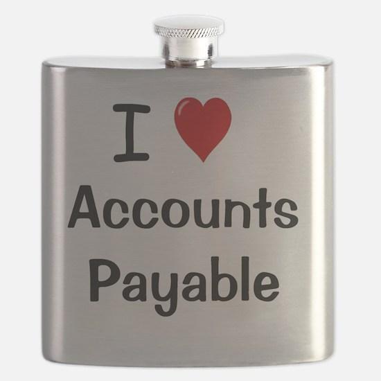 I Love Accounts Payable Flask