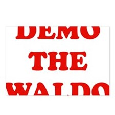 Demo the waldo Postcards (Package of 8)