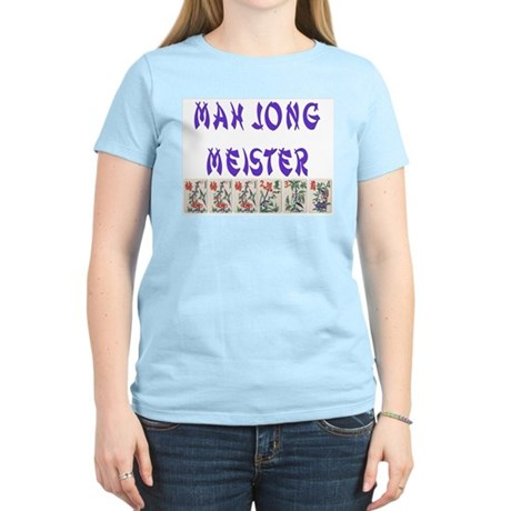 MAH JONG MEISTER Women's Light T-Shirt