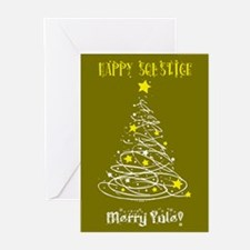 Solstice Card Gld Greeting Cards