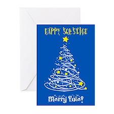 Solstice Card Blu Greeting Cards