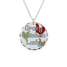 Crazy Chicken Lady Necklace