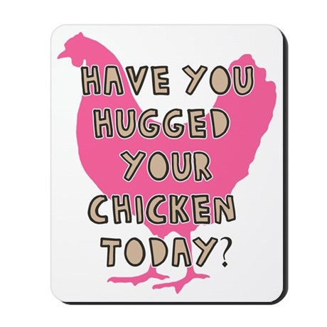 chickenhug Mousepad