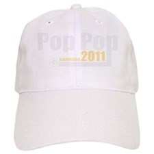 pop pop est 2011_dark Baseball Cap
